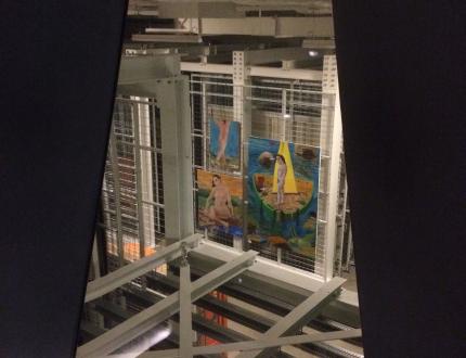 Artworks logistical management
